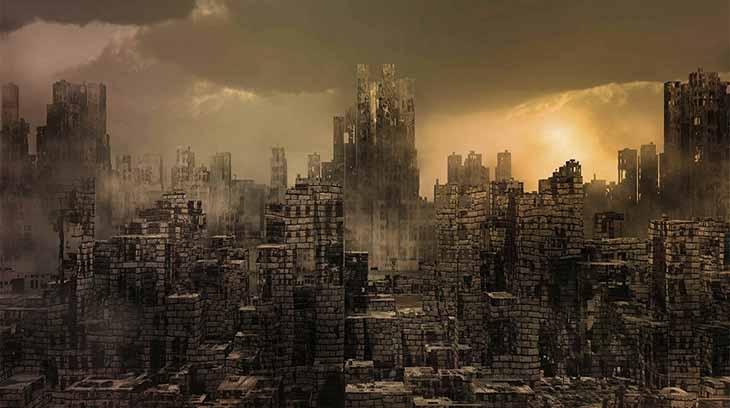 Dystopian-world
